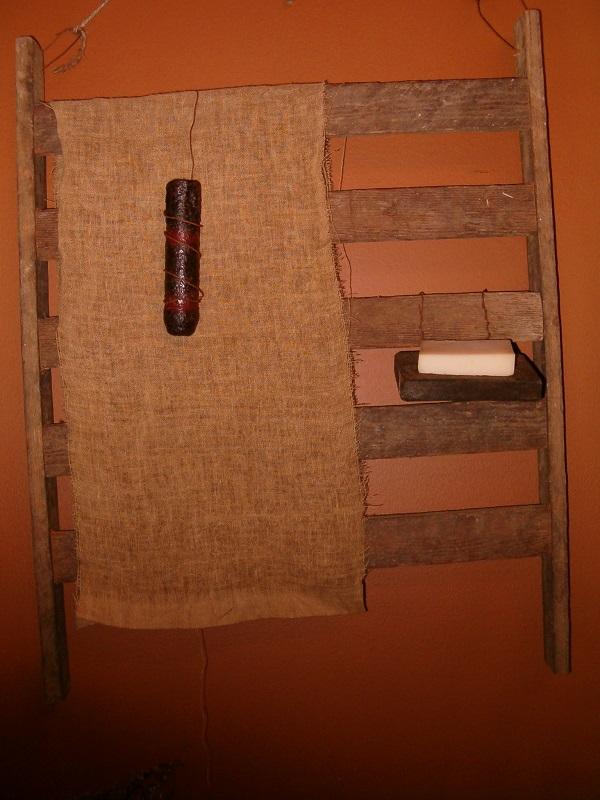 lath towel rack