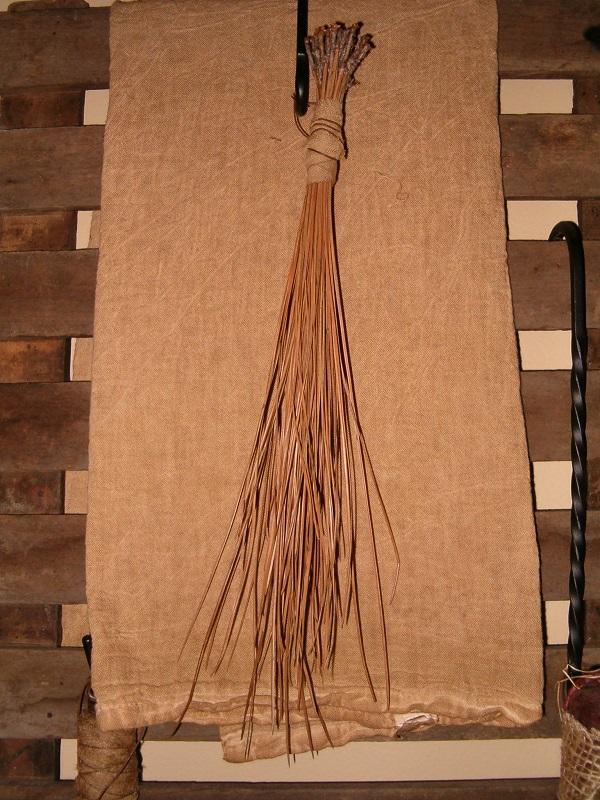 pine needle scrub brush