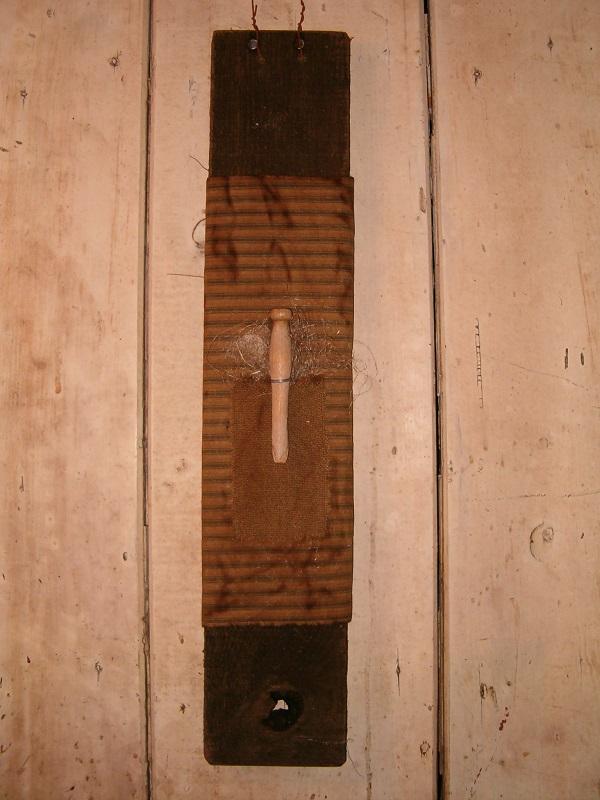 barnwood clothespin hanger