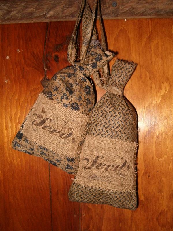 blue prairie seed bags