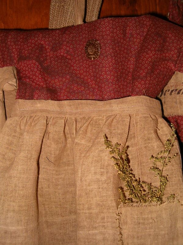 large red daisy floral prairie dress