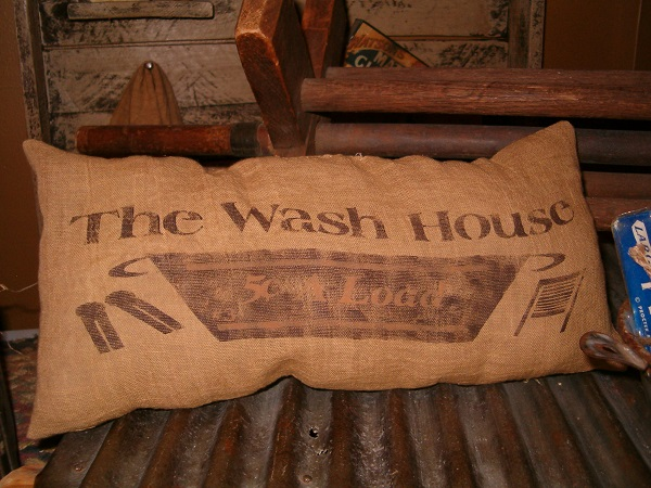 wash house pillow