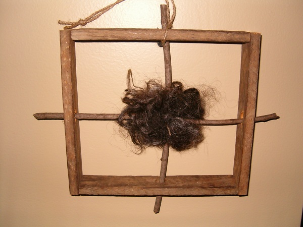 square makedo wool winder