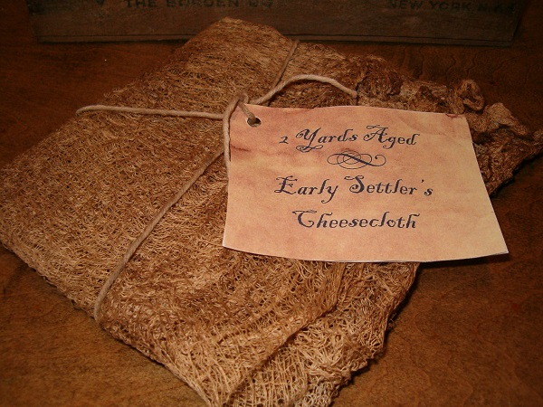 aged cheesecloth