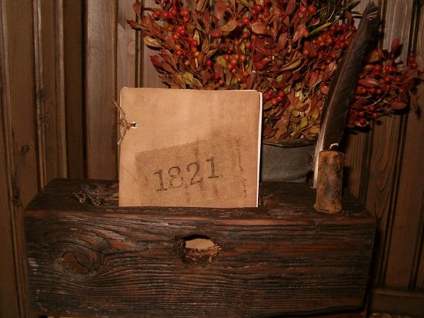 1821 journal caddy