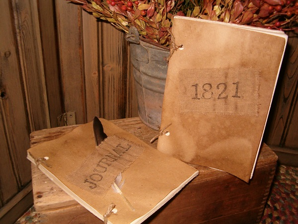 small prim makedo journal