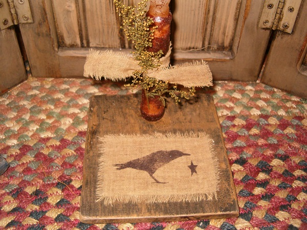 crow candle board