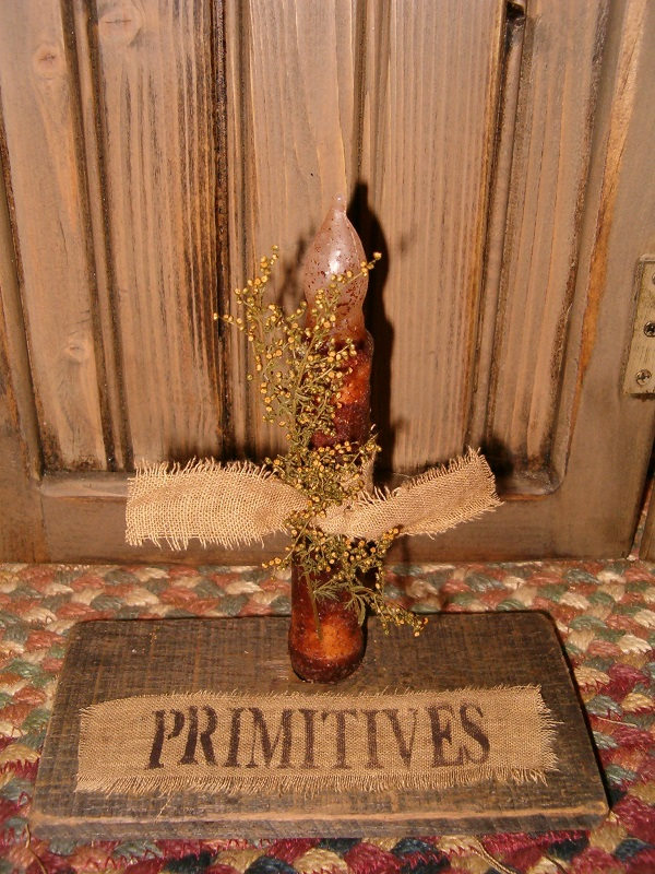 primitives candle board