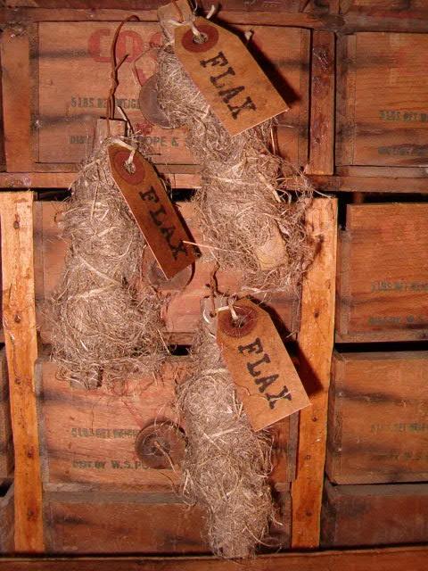 small flax sticks