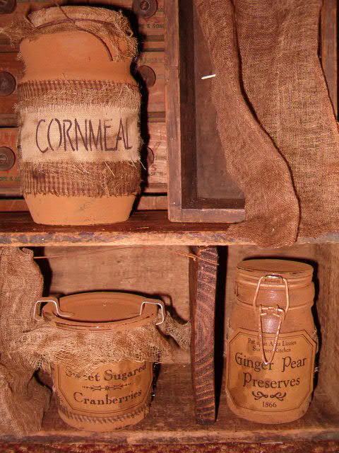 prim pantry jars