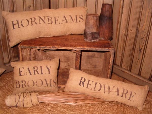 hornbeams pillow set