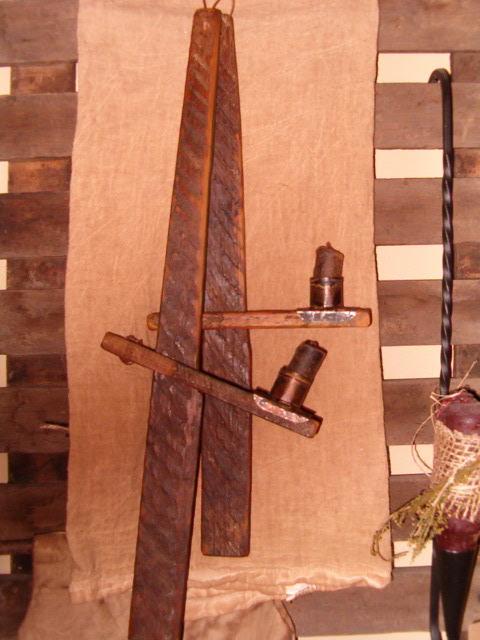 makedo wooden hanging candle trammels
