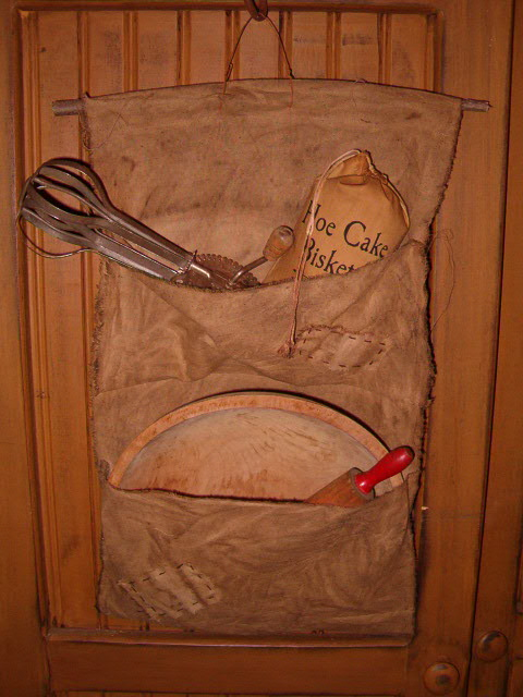 double pocket pantry hanger