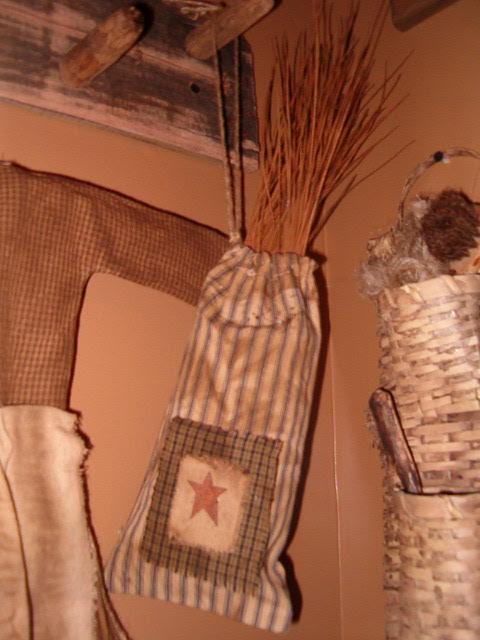 pine needle hanging sack
