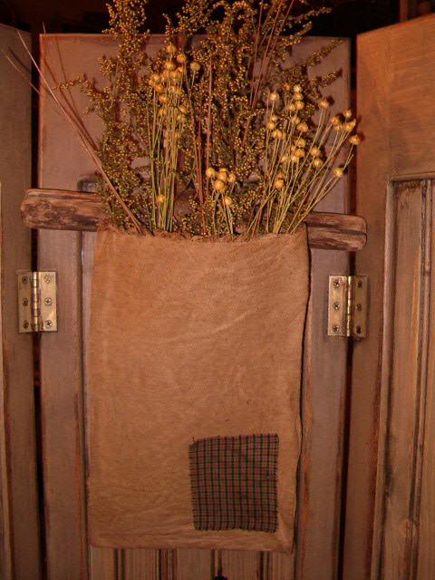 farm hook floral hanger