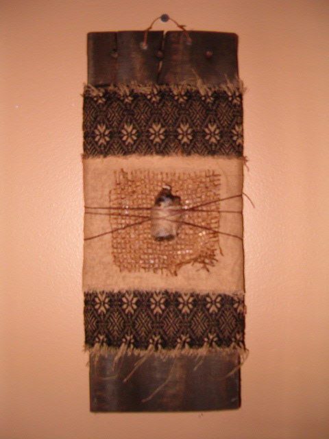 Hanging candle board