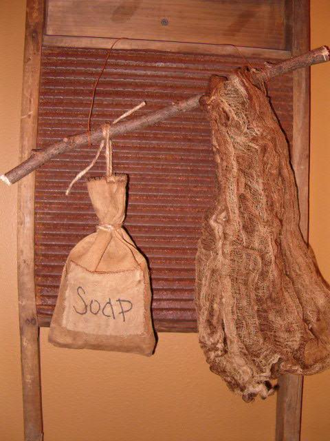 soap sack hanger
