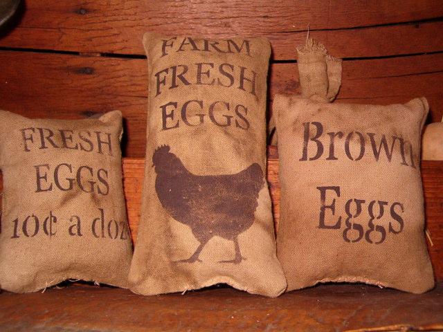 fresh eggs pillow tucks