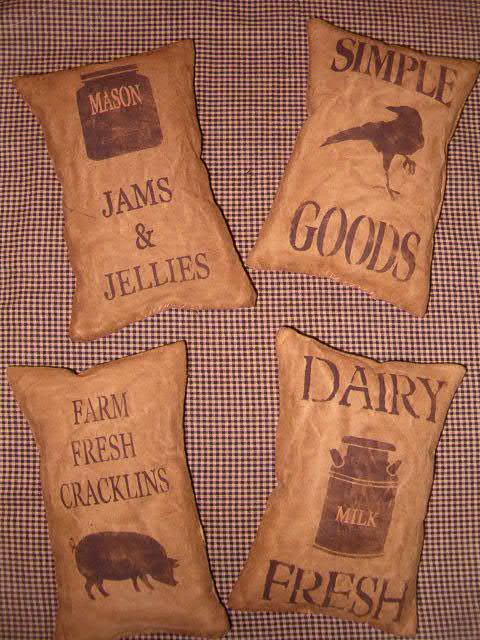 osnaberg kitchen tuck pillows