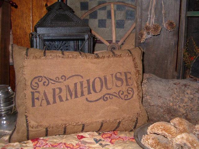 heirloom Farmhouse pillow
