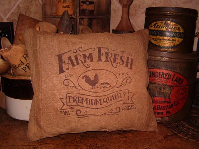 Farm Fresh Premium Quality pillow
