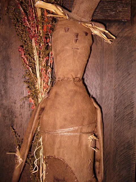Haydon the scarecrow