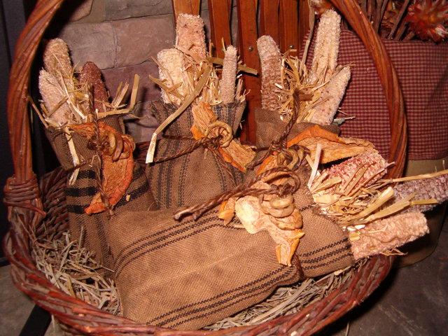 small corncob feed sacks