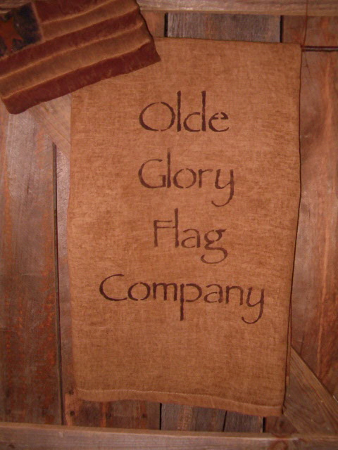 Olde Glory Flag Co towel or pillow