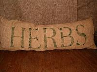 herbs pillow