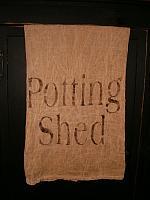 Potting Shed towel