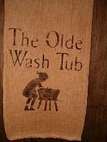 the olde washtub towel