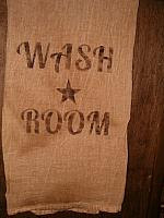 Wash Room floursack towel