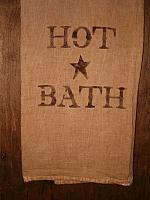 Hot Bath floursack towel