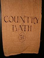 Country Bath floursack towel