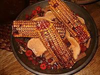 peasant corn bowl filler