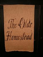 the olde homestead towel