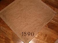 1890 napkin