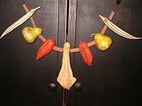 winged gourd mantel hanger