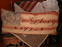 olde glory 1776 pillow