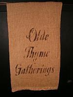 olde thyme gatherings towel