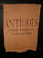Antiques towel