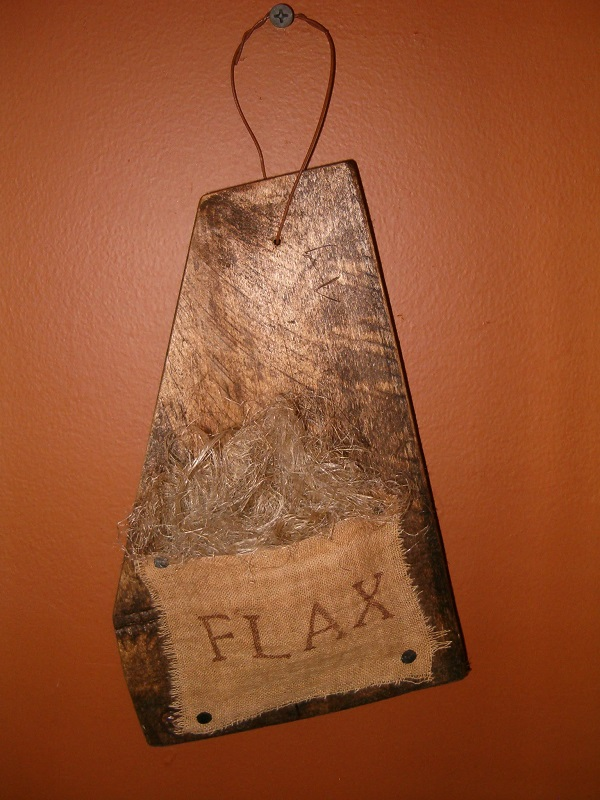 flax barnwood hanger