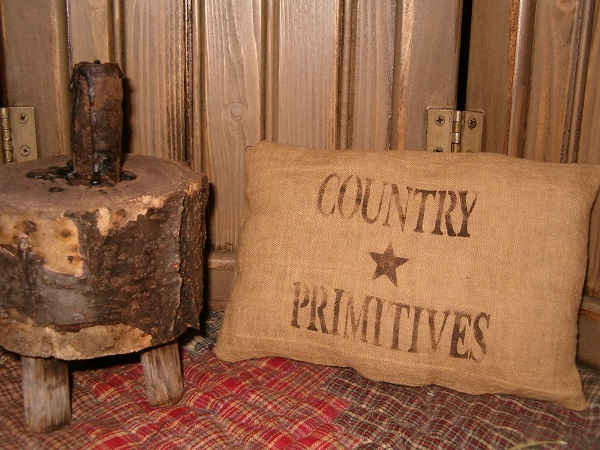 country primitives pillow