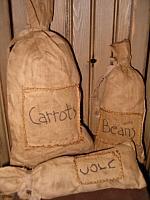 prim patched pantry sacks