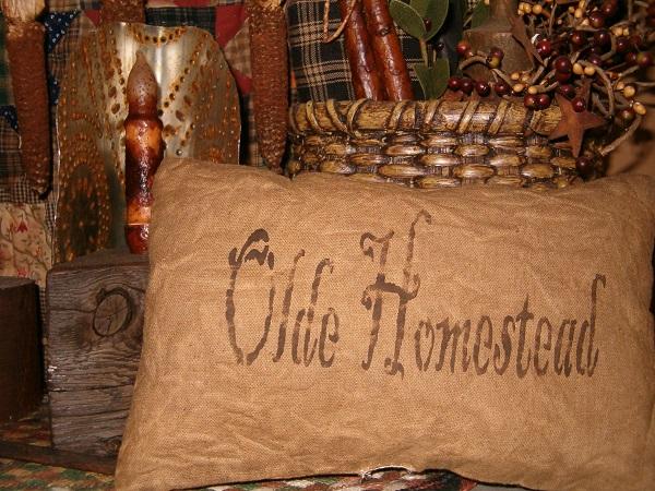 rectangular olde homestead pillow