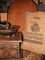 roasted coffee pillow
