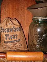 Buckwheat Flour ditty bag