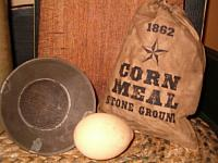 stone ground corn meal ditty bag