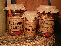 Fall pantry jars 3