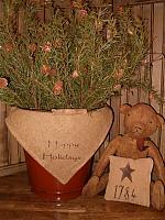 Happy Holidays napkin